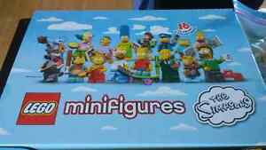Lego Simpsons series one minifigures complete set