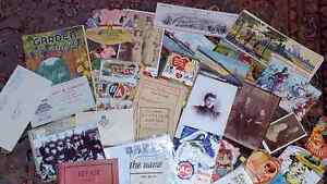 Wanting to buy ephemera (old paper goods of a wide variety),