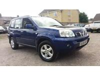 2004 04 NISSAN X-T 2.2dCi SVE. 12 MONTHS MOT.FANTASTIC EXAMPLE.ANY PX WELCOME .
