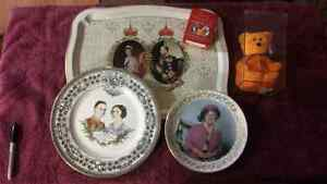 Collection of Royal Family items