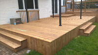 SAVE THE TAX- 0% IN HOUSE FINANCING-HISTORIC DECKS & FENCE