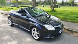 2006 Vauxhall Tigra convertible. 1.8 exclusive model
