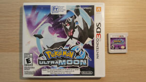 MINT condition Pokemon DS and 3DS games!
