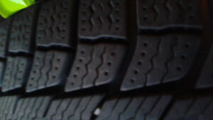 Used snow tires in good condition