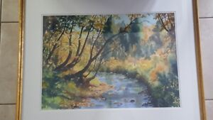 Paintings water colours