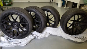 VMR mags wheels winter tires Pneus hiver mags BMW AUDI MERCEDES