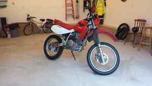 2007 Honda XR650l dual pupose bike for sale