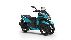 2017 YAMAHA TRICITY 125 AQUA BLUE, BRAND NEW! *LOW RATE FINANCE AVAILABLE*