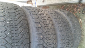 4 studded winter tires on newer rims Prince George British Columbia image 3