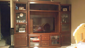 Excellent condition beautiful wall unit