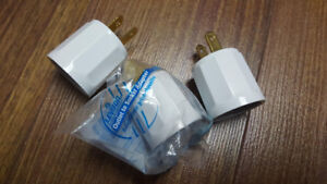 3 outlet to socket adapters