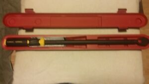 fatmax 1/2 in drive torque wrench never used