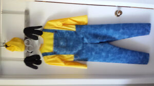 Minion boys 3-5 years costume