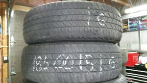 2 pneus 185 60 15 Douglas