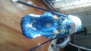Fisher price aguarium cradle swing