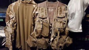 British army issue MOLLE tactical vest