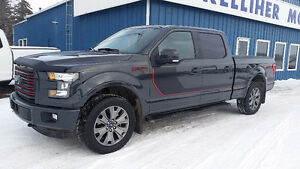 2016 Ford F-150 SuperCrew LARIAT 4x4 6.5' box Pickup Truck