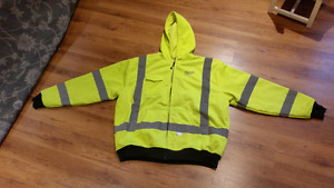 M12 HEATED HOODIE HIGH VIS NEW 2XL