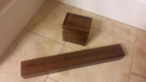 Deluxe wood deck box and play mat box by Aaron Cain