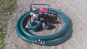 3in gas powered water pump