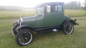 1926 model T 5 window coupe