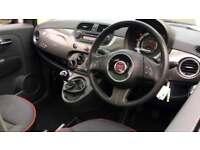 2014 Fiat 500 1.2 Lounge (Start Stop) with B Manual Petrol Hatchback