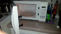 Small White Microwave