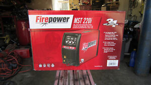 Firepower MST 220i Multiprocess Mig Tig Stick Welder New In Box