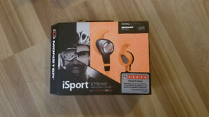 Monster iSport earbuds