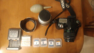 Pentax IstD L2 and accesories