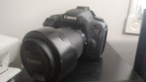 Canon EOS 7D with EF-S 18-135mm f/3.5-5.6, lens