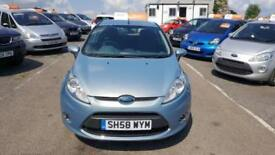 2008 Ford Fiesta Hatch 5Dr 1.25 82 Zetec 5 Petrol blue Manual
