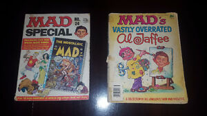 COLLECTIBLE MAD MAGAZINES From the 70'S