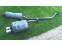 Honda Civic Type R Centre section exhaust