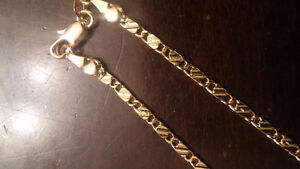 "24"" Exquisite cut GOLD filled Chains Necklace Jewelry for sale"