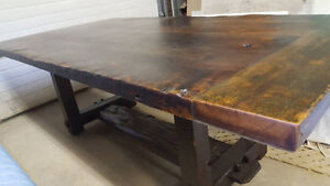 "2"" Thick, Rustic Pine Dining Tables Starting At Only $650 Kitchener / Waterloo Kitchener Area image 10"