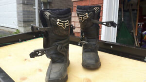 Kids motocross boots - Fox Comp Youth 3 size 4.  Used one year.