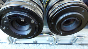 6 35mm Camera Lenses Various Mounts $60 All. Unknown mounts... Prince George British Columbia image 8