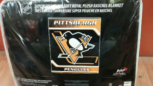 Pittsburgh Penguin Queen Size Blanket