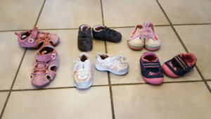 $35 lot of girls shoes