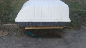 3ft x 4ft skiboose style  trailer/sled for behind skidoo