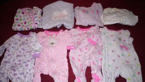 Newborn sleeper lot