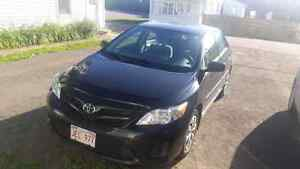 2012 Toyota Corolla lease takeover -13 months left