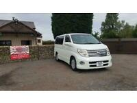 Nissan Elgrand 2.5 automatic 8 seater white MPV day van only 46k miles 05