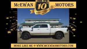 2012 Ram 2500 Laramie Longhorn Lifted Diesel 4x4 Truck