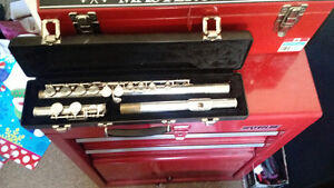 Used Flute and hard case