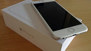 iPhone 6 Silver Brand New Condition Unlocked