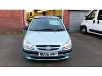 HYUNDAI GETZ 1.1 5 DOOR ONLY 60000 MILES 2 OWNERS VERY CLEAN ECONOMICAL 2006