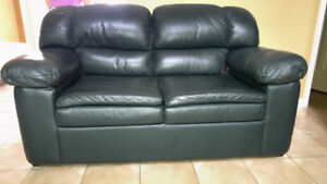 Leather Sofa Set or individual pieces