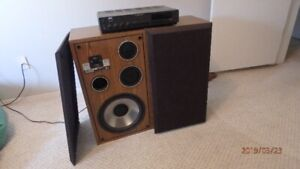 Stereo speakers;   NAD AM/FM Receiver